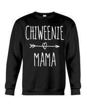Chiweenie Mama T Shirt Chihuahua Mom Gift Crewneck Sweatshirt thumbnail