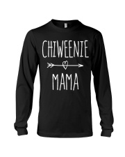 Chiweenie Mama T Shirt Chihuahua Mom Gift Long Sleeve Tee thumbnail