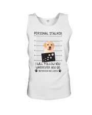 Funny Dog Lover Gift Personal Stalker Labrador T S Unisex Tank thumbnail