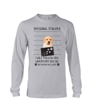 Funny Dog Lover Gift Personal Stalker Labrador T S Long Sleeve Tee thumbnail