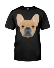 Brown French Bulldog - French Bulldog Lovers Classic T-Shirt front
