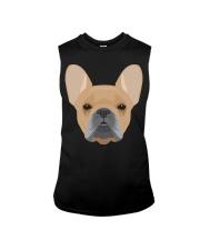 Brown French Bulldog - French Bulldog Lovers Sleeveless Tee thumbnail