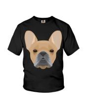 Brown French Bulldog - French Bulldog Lovers Youth T-Shirt thumbnail