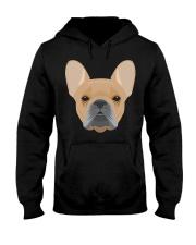 Brown French Bulldog - French Bulldog Lovers Hooded Sweatshirt thumbnail