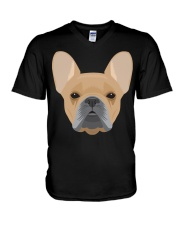 Brown French Bulldog - French Bulldog Lovers V-Neck T-Shirt thumbnail