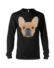 Brown French Bulldog - French Bulldog Lovers Long Sleeve Tee thumbnail