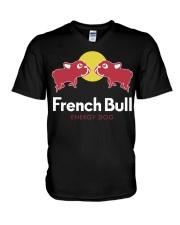 French Bulldog Energy - French Bulldog Lovers V-Neck T-Shirt thumbnail