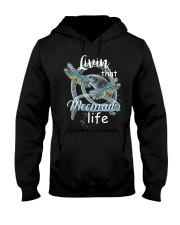 Livin That Meemaw Life Dragonfly Art Funny Meemaw  Hooded Sweatshirt thumbnail