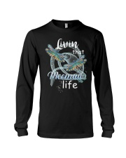 Livin That Meemaw Life Dragonfly Art Funny Meemaw  Long Sleeve Tee thumbnail