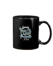 Livin That Meemaw Life Dragonfly Art Funny Meemaw  Mug thumbnail