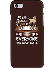 Funny Labrador Shirt - You Must Love My Labrador Phone Case thumbnail