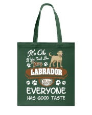 Funny Labrador Shirt - You Must Love My Labrador Tote Bag thumbnail