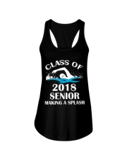CLASS OF 2018 SENIOR Ladies Flowy Tank thumbnail