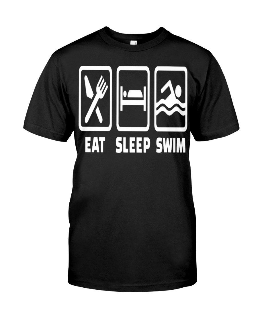 SWIMMING EAT Classic T-Shirt