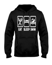 SWIMMING EAT Hooded Sweatshirt thumbnail