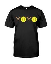 XOXO - Softball Classic T-Shirt thumbnail