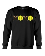 XOXO - Softball Crewneck Sweatshirt thumbnail