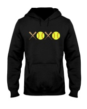 XOXO - Softball Hooded Sweatshirt thumbnail