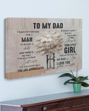 My dad my hero I love you  30x20 Gallery Wrapped Canvas Prints aos-canvas-pgw-30x20-lifestyle-front-01