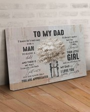 My dad my hero I love you  30x20 Gallery Wrapped Canvas Prints aos-canvas-pgw-30x20-lifestyle-front-07