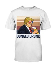 US DRINK DONALD DRUNK Classic T-Shirt front