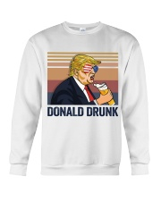 US DRINK DONALD DRUNK Crewneck Sweatshirt thumbnail