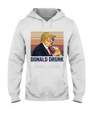 US DRINK DONALD DRUNK Hooded Sweatshirt thumbnail