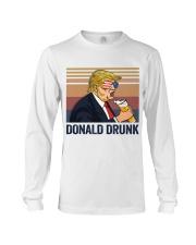 US DRINK DONALD DRUNK Long Sleeve Tee thumbnail