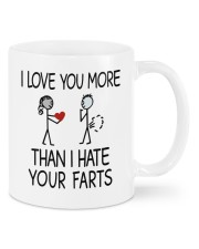 I Love You More Mug Mug front
