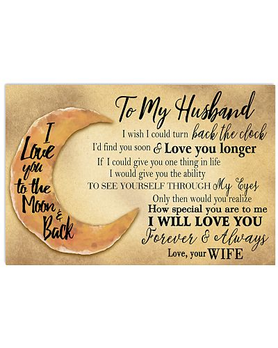 To My Husband - Could Turn Back The Clock