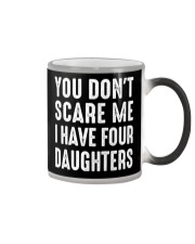 I have four daughters Color Changing Mug thumbnail