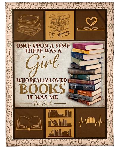 Girl love books BFG-BLK379