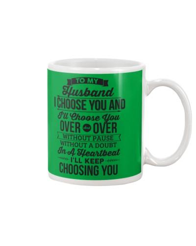 TO MY HUSBAND - I CHOOSE YOU
