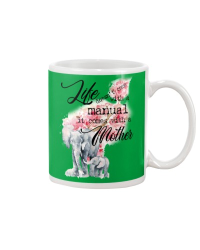 Life doesn't come with a manual Mug