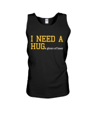 I Need A Huge Glass Of Beer Unisex Tank front