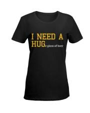 I Need A Huge Glass Of Beer Ladies T-Shirt women-premium-crewneck-shirt-front