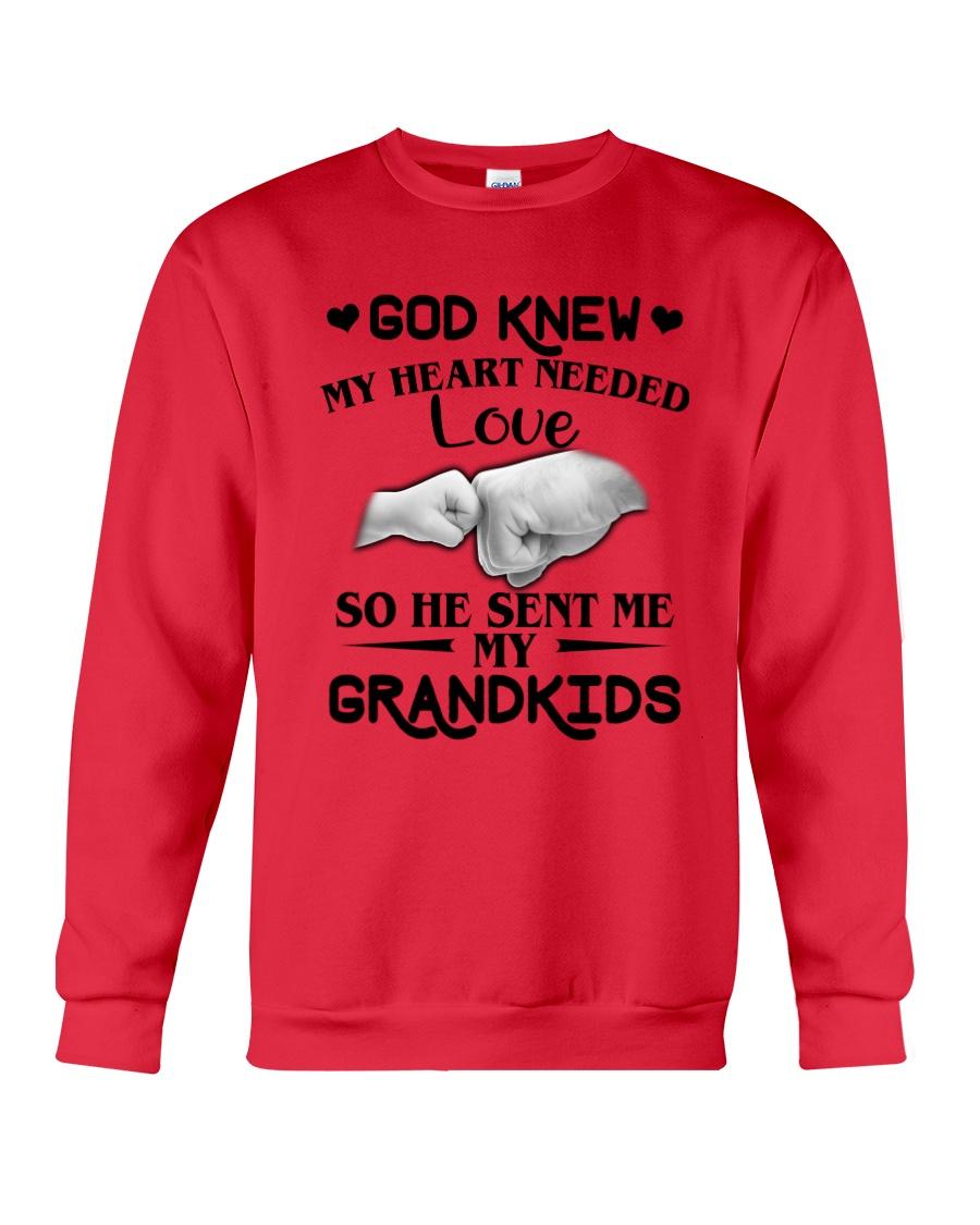God Sent Me My Grandkids Crewneck Sweatshirt