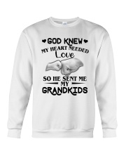 God Sent Me My Grandkids Crewneck Sweatshirt tile