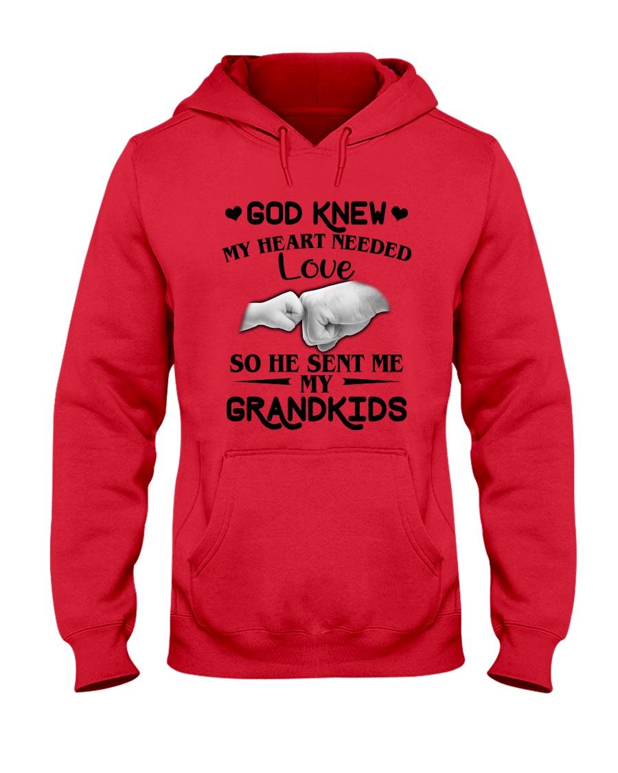 God Sent Me My Grandkids Hooded Sweatshirt