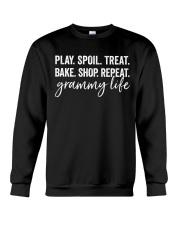 Play Spoil Treat Bake Grammy Life Crewneck Sweatshirt thumbnail