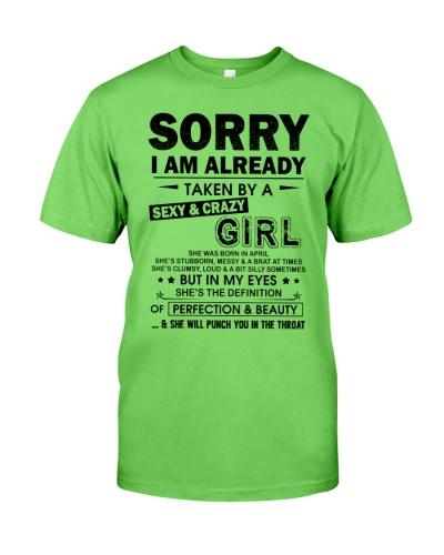 SORRY I AM ALREADY TAKEN BY A SEXY GIRL