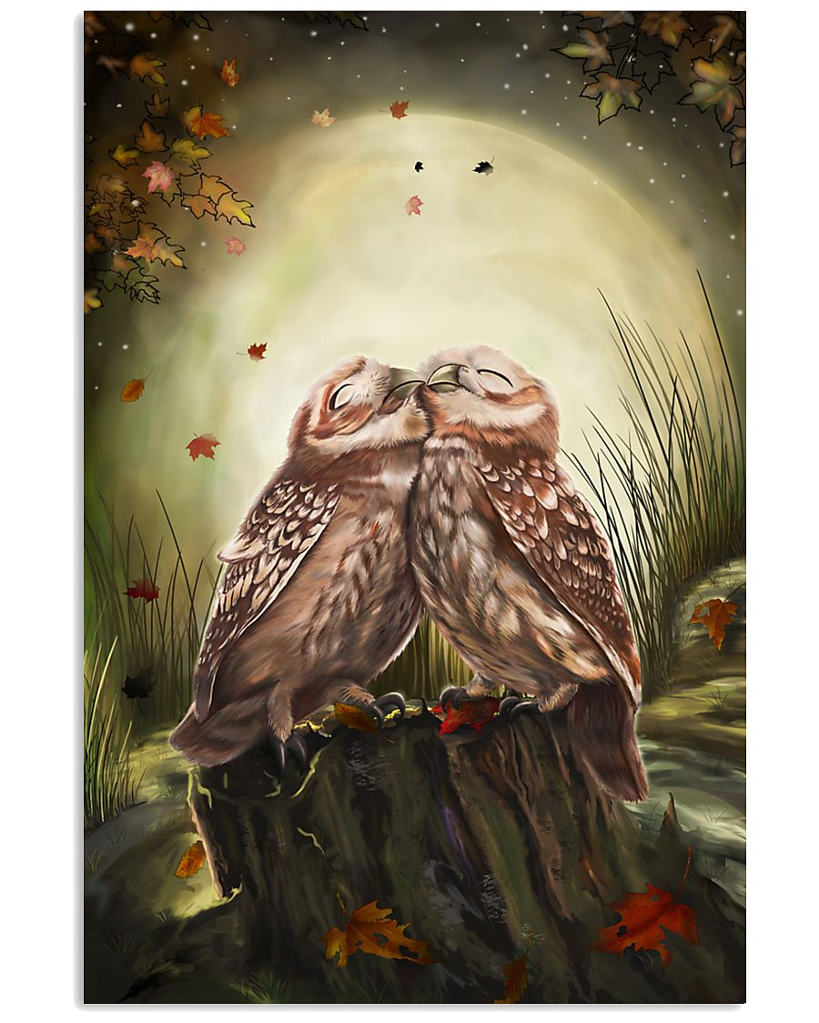 OWL LOVES 24x36 Poster