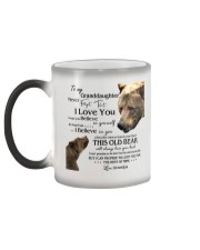 1 DAY LEFT - TO MY GRANDDAUGHTER FROM GRANDPA BEAR Color Changing Mug color-changing-left