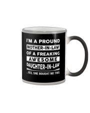 Proud Mother-in-law Color Changing Mug thumbnail