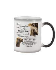 1 DAY LEFT - GET YOURS NOW TO MY DAUGHTER LIONS Color Changing Mug thumbnail