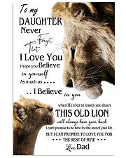 1 DAY LEFT - GET YOURS NOW TO MY DAUGHTER LIONS 11x17 Poster thumbnail