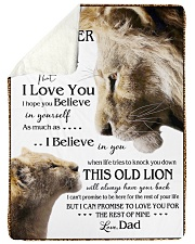 """1 DAY LEFT - GET YOURS NOW TO MY DAUGHTER LIONS Large Sherpa Fleece Blanket - 60"""" x 80"""" thumbnail"""
