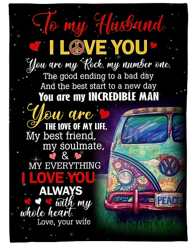 To My Husband Hippie Bus