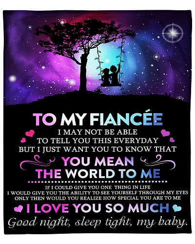 MY FIANCEE I LOVE YOU FROM FIANCE BFG-BLK415