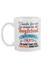 Thanks For not putting my boyfriend Mug back